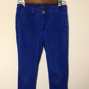 Women's Size 4P Baccini Blue Pants